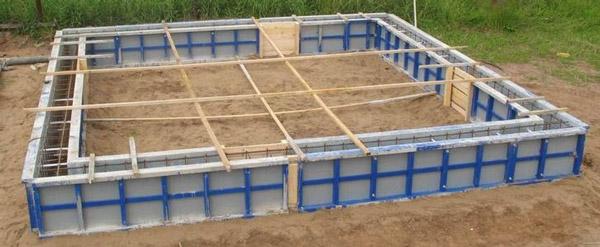 Опалубка — специальная форма для заливки и выдерживания бетонной смеси