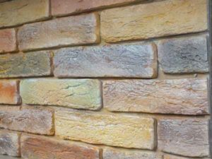 3 оригинальных способа имитации кирпичной стены