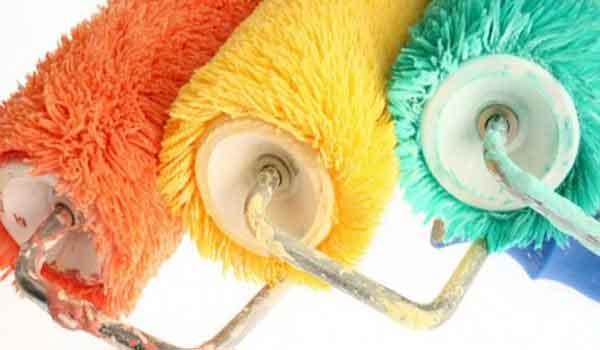 Валики можно использовать для покраски практически любой поверхности