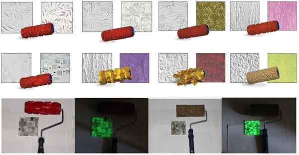 Валики изготавливаются из разных материалов