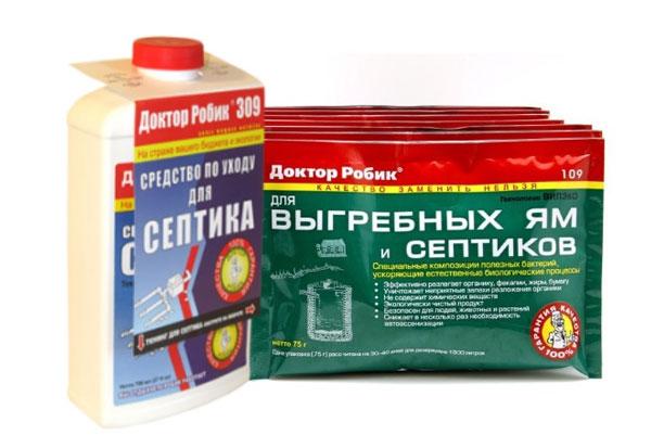 Сегодня на рынке биопрепаратов очень популярны бактерии «Доктор Робик»