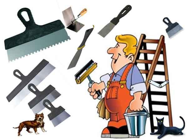 Варианты шпателей для ремонта квартиры