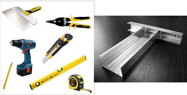 Необходимые инструменты для выполнения работ