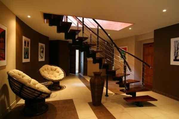 Модульные лестницы привлекают своим нестандартным дизайном