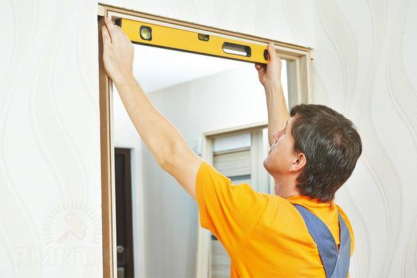 Установить межкомнатные двери можно своими руками
