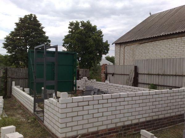 Строительство стен из кирпича