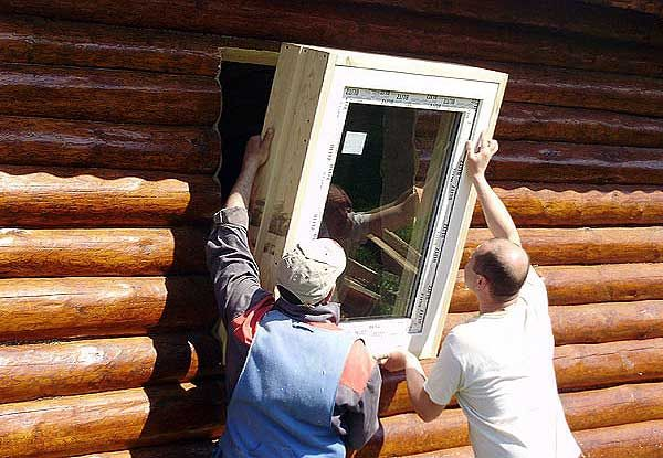 Как правильно вставить пластиковые окна в дом своими руками
