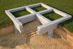 Надежный фундамент для постройки небольшого дома