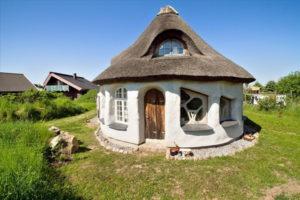 Глинобитные саманные дома